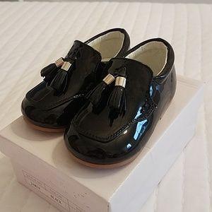 Sevva jamie spanish leather patent toddler shoes